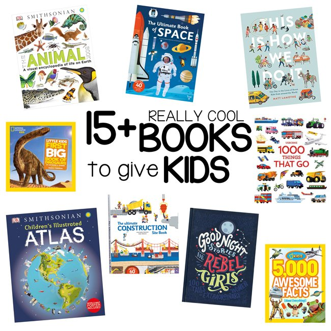 REALLY COOL BOOKS FOR KIDS: What are the best books to give as gifts? Check out these really cool books that kids will love to get as a present.