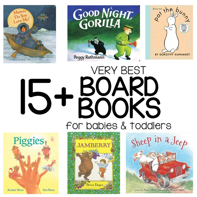 BEST BOARD BOOKS FOR BABIES AND TODDLERS: This is the best list for finding amazing books that your toddler and babies will GROW with. These titles will take them into elementary school - not your average board books!