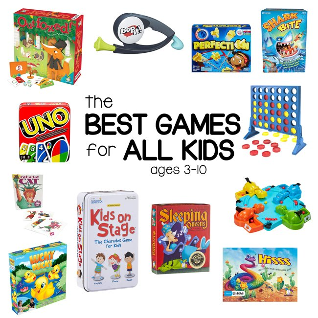 BEST GAMES FOR KIDS: Check out the best board games for kids ages 3-10/ These are the perfect games for families and siblings to play (from Busy Toddler)