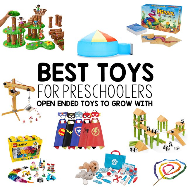 BEST TOYS FOR PRESCHOOLERS: Check out this amazing list of toy ideas for 4 YEAR OLDS. Three year olds will love this list of toys. A fantastic toys list for kids.