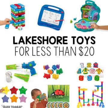 Lakeshore Toys under $20
