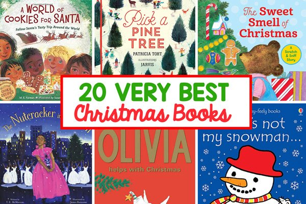 LOOKING FOR THE BEST CHRISTMAS BOOKS FOR TODDLERS AND PRESCHOOLERS? Check out this amazing list from Busy Toddler