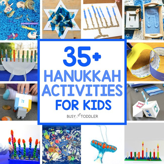 LOOKING FOR THE BEST HANUKKAH ACTIVITIES FOR KIDS? Check out this list of amazing Hanukkah activities for all kid ages.