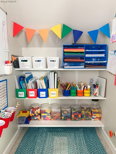 A closet to playroom design transformation