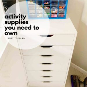 Activity supplies kids should have access to