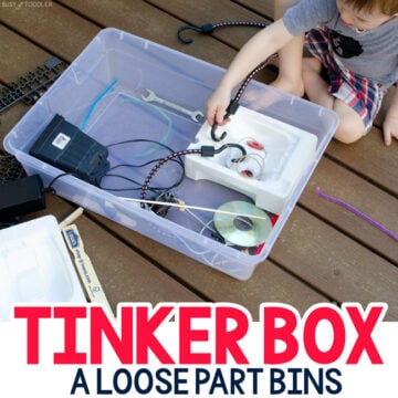 Tinker Box Inventor's Kit (Loose Play Activity)