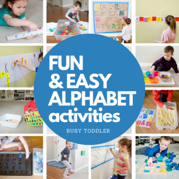 Learning the Alphabet: Best Activities for the ABCs