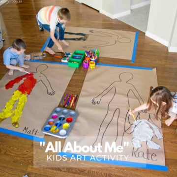 """""""All About Me"""" Body Art Activity"""