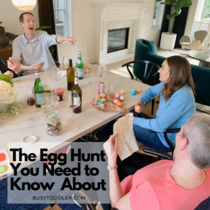 PLANNING AN ADULT EASTER EGG HUNT? This is the way to do it. Best Easter Egg hunt for adult children.