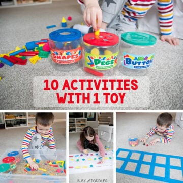 10 Activities with 1 Lakeshore Toy