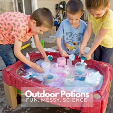 Outdoor Potions Science Activity