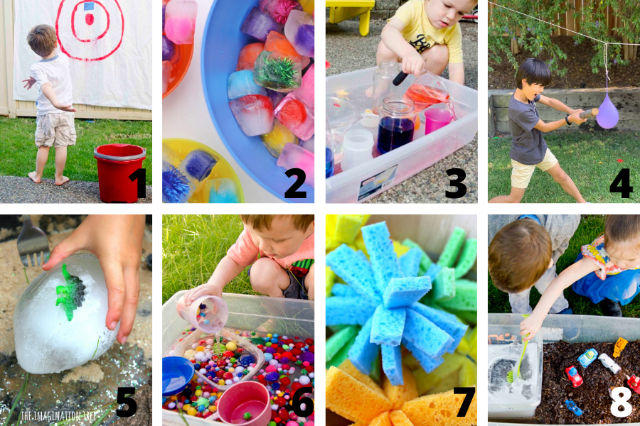 Outdoor Water Play Activity Ideas