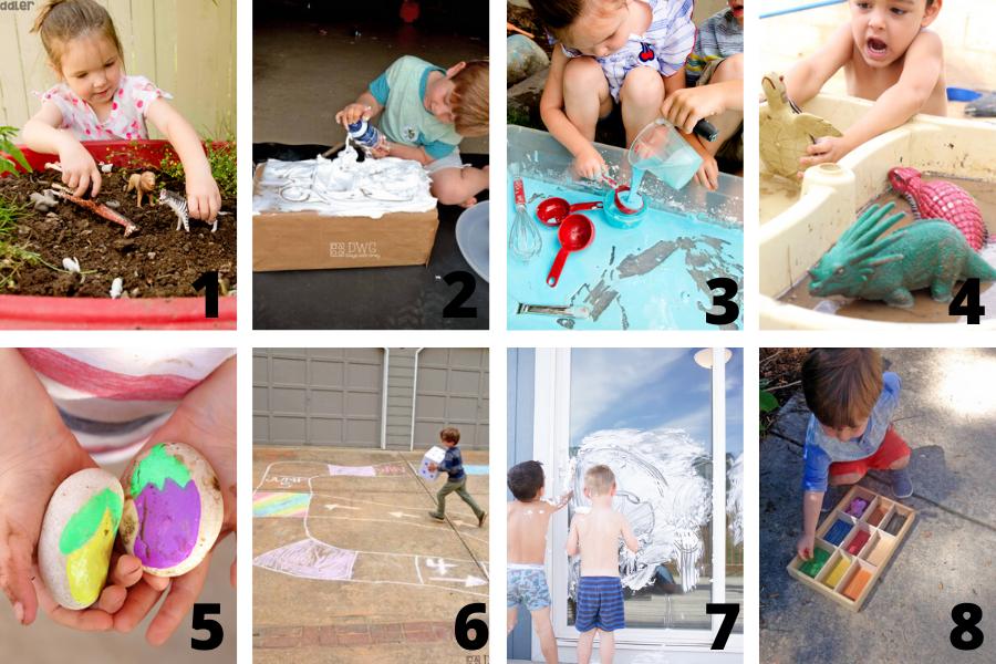 Easy outdoor activities for kids