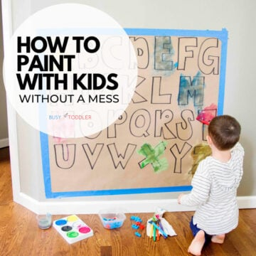 How to Paint with Kids