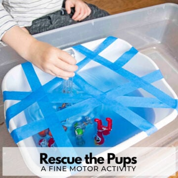 Rescue the Pups: Fine Motor Activity for Kids