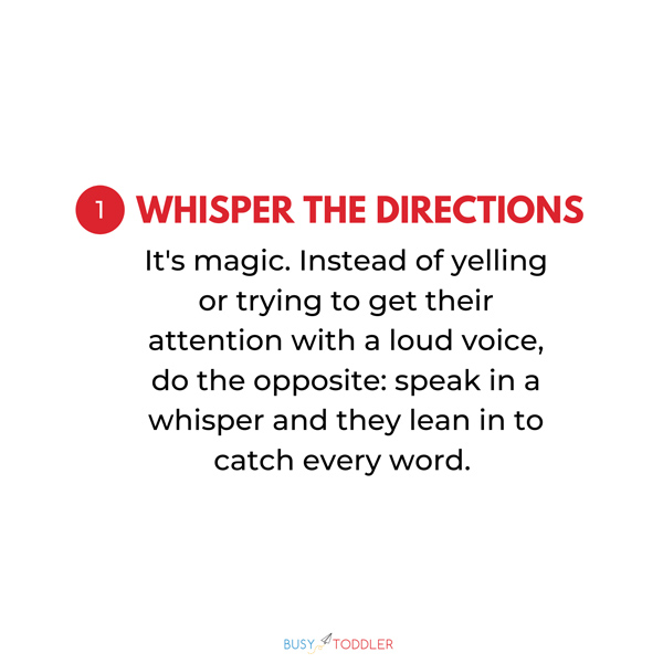 WHISPER THE DIRECTIONS