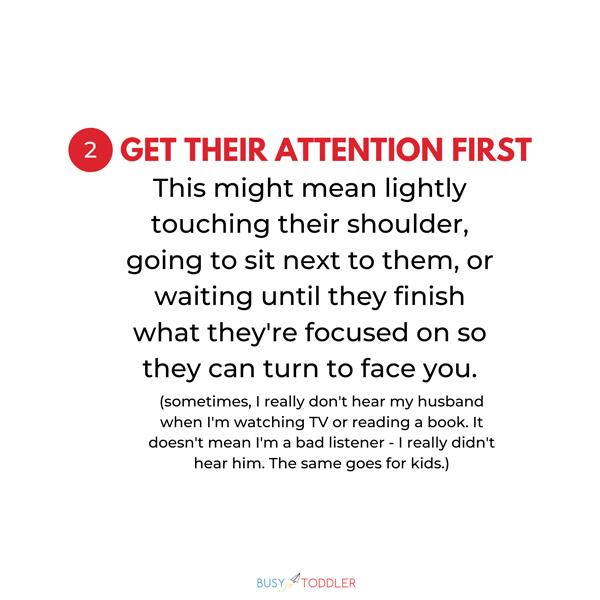 GET THEIR ATTENTION FIRST