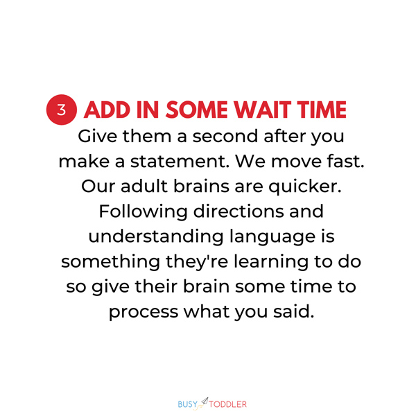 ADD IN SOME WAIT TIME