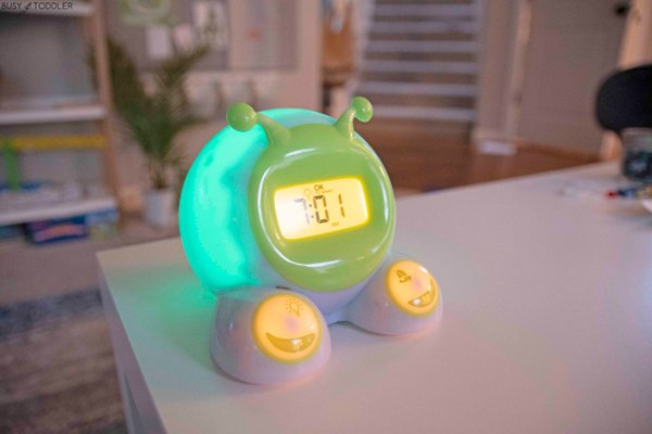 A countdown timer to help kids understand time