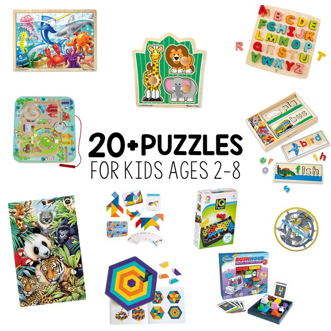 best puzzles for kids ages 2-8