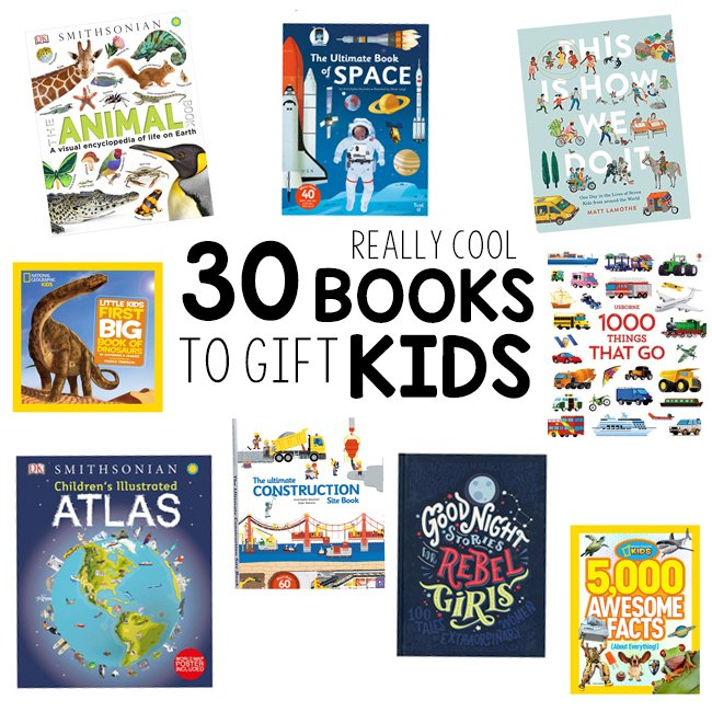 30 really cool books to gift kids