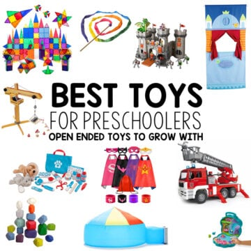 Best Toys for Preschoolers – Ages 3-5