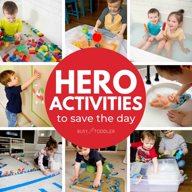 What are the best indoor activities for kids? This list has them all! Easy activities for ALL AGES that are perfect on a rainy day.